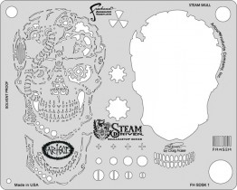 Трафарет Steam Driven Template Steam Skull (FH SDSK 1)